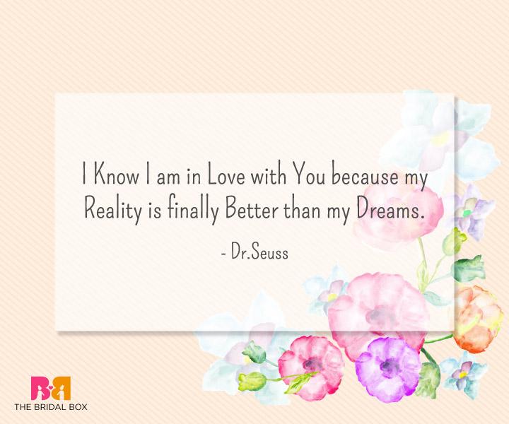 Heart Touching Love Sms - Dr. Seuss