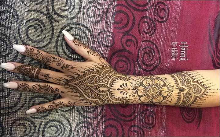 Mehndi Designs And S : Arabic bridal mehndi designs for hands: 34 trending styles