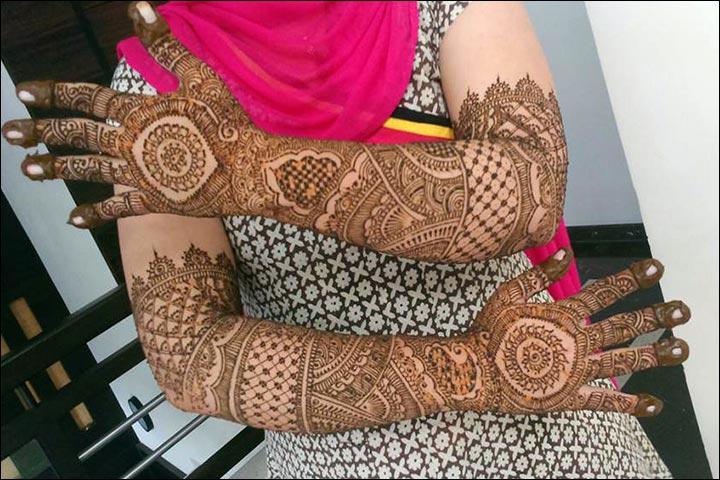 Mehndi Hands Designs : Arabic bridal mehndi designs for hands: 34 trending styles