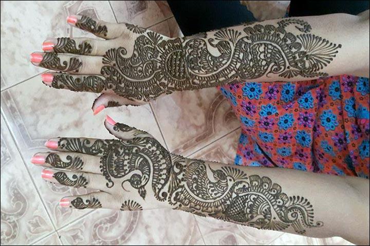 Mehndi Bunch On Arm : Arabic bridal mehndi designs for hands trending styles
