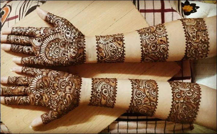 Arab Bracelets Arabic Bridal Mehndi Design for hands