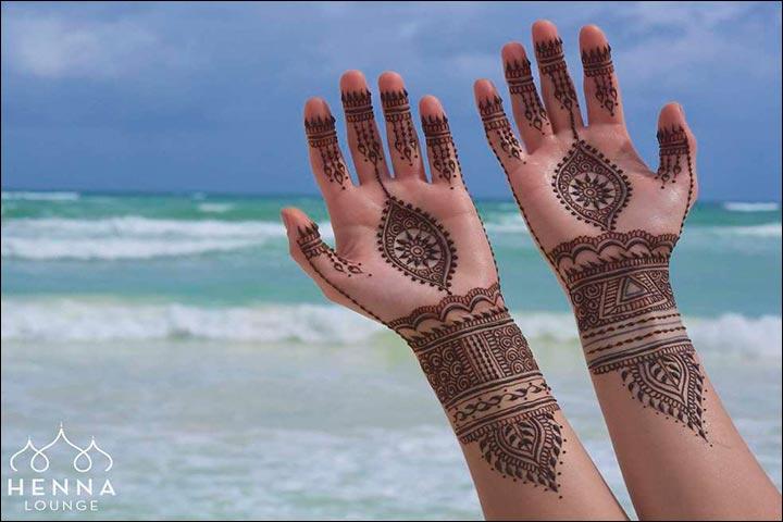 Arabic Bridal Mehndi Designs For Hands 34 Trending Styles