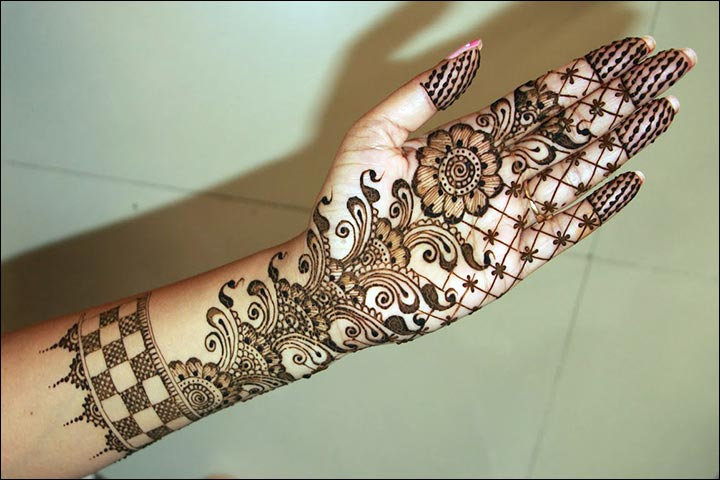 Mehndi Designs Hands Arabic Latest : Arabic bridal mehndi designs for hands trending styles