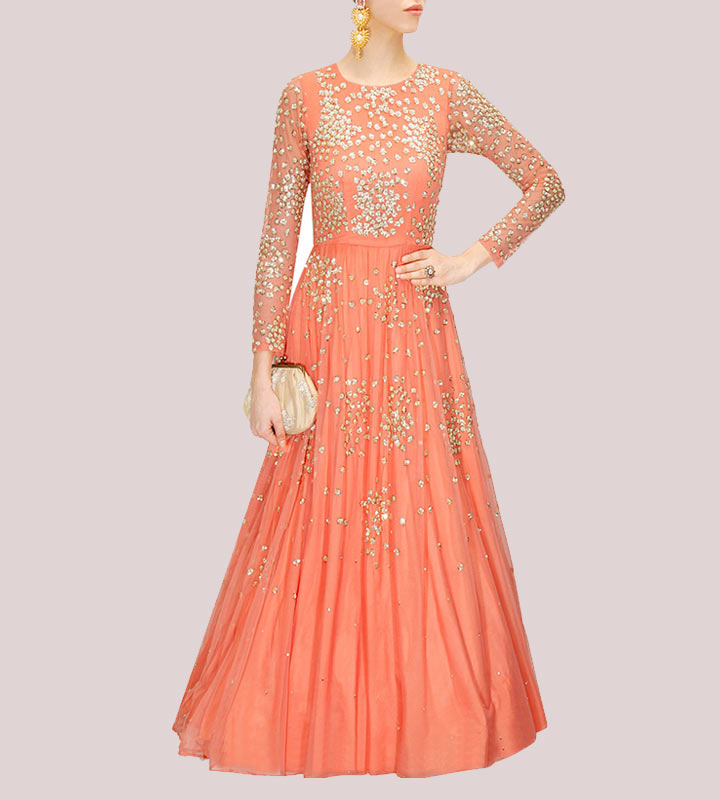 Astha Narang engagement gown