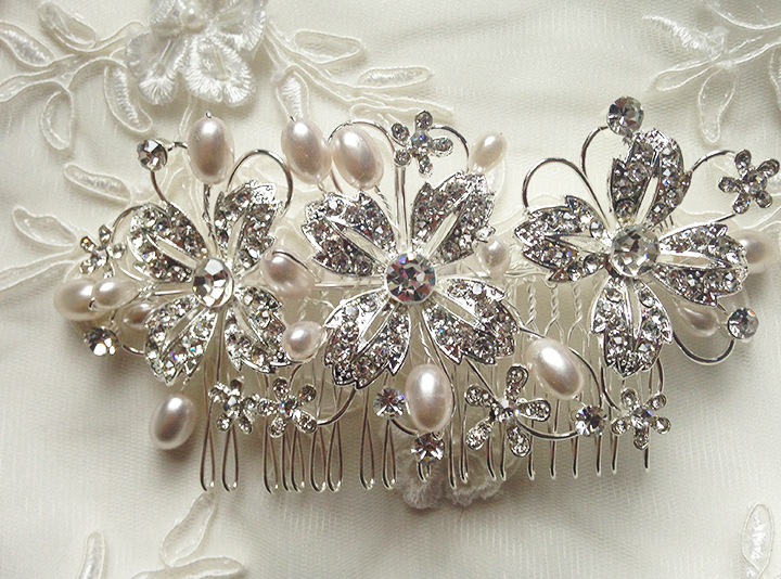 Hair Brooches For Weddings - Corsage Hair Brooch