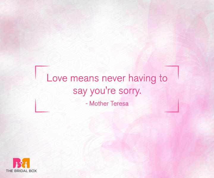 Deep Love Quotes For Her - Mother Teresa