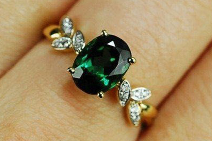 Emerald Engagement Rings - The Diamond Petals