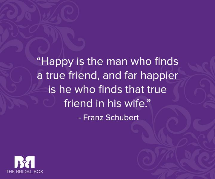 Engagement Anniversary Quotes - Franz Schubert