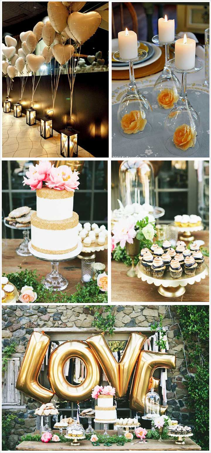 10 best engagement party decoration ideas that are oh so for Wedding party decorations