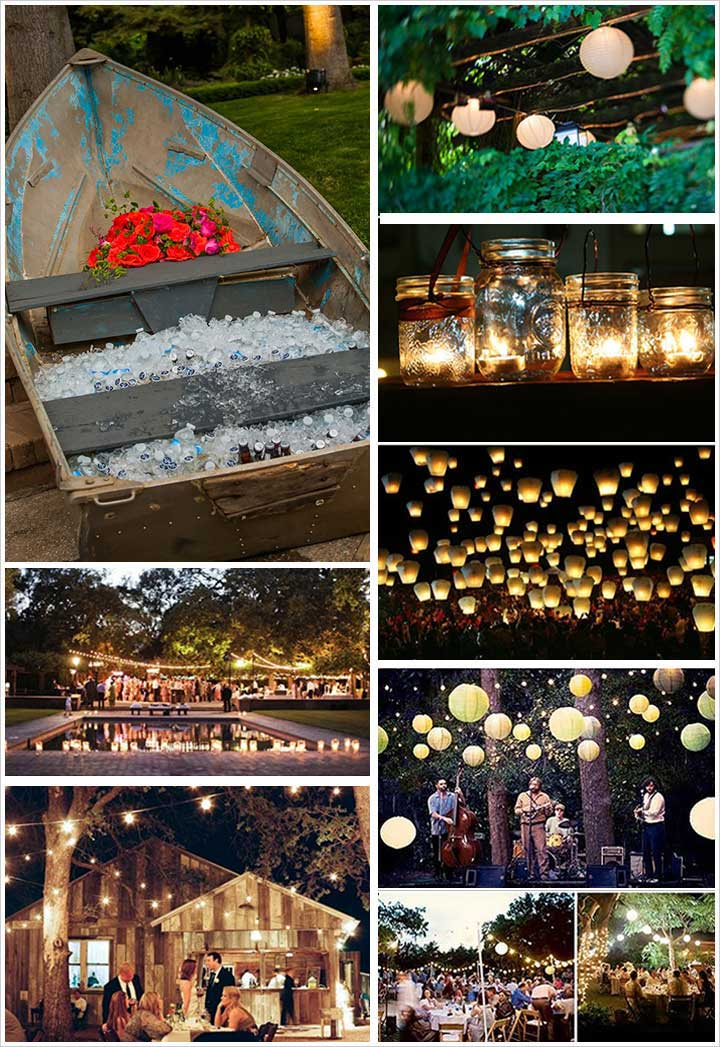 Boat And Balloons - Engagement Decorations
