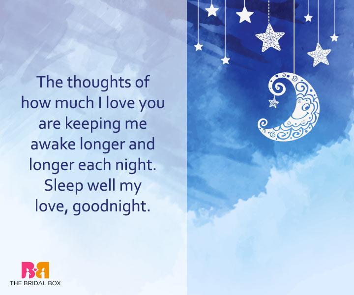 Good Night Love Messages - Sleep Well