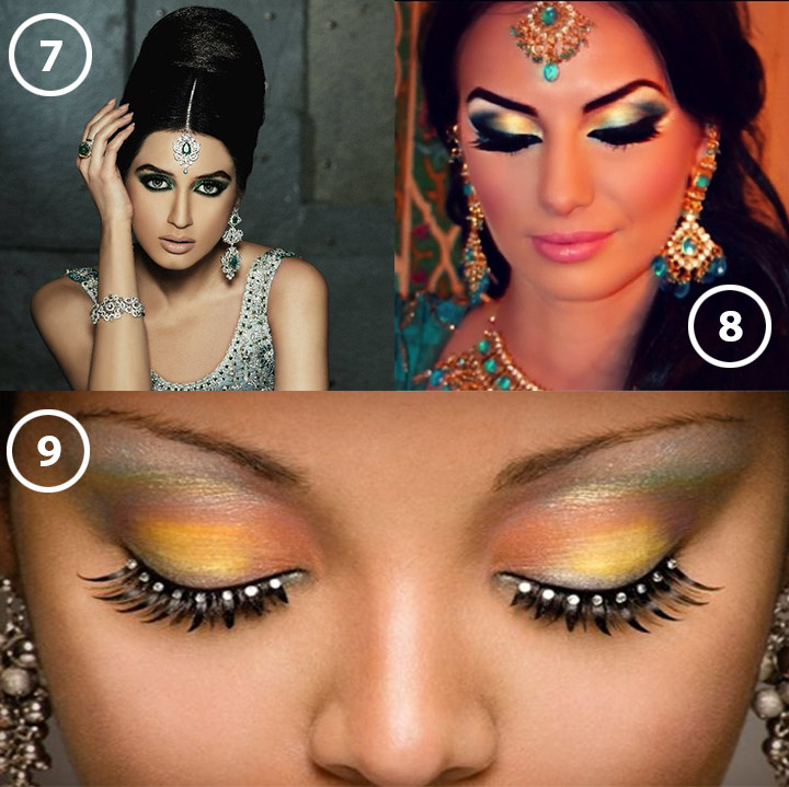 Bridal Eye Makeup Tips - double winged liner