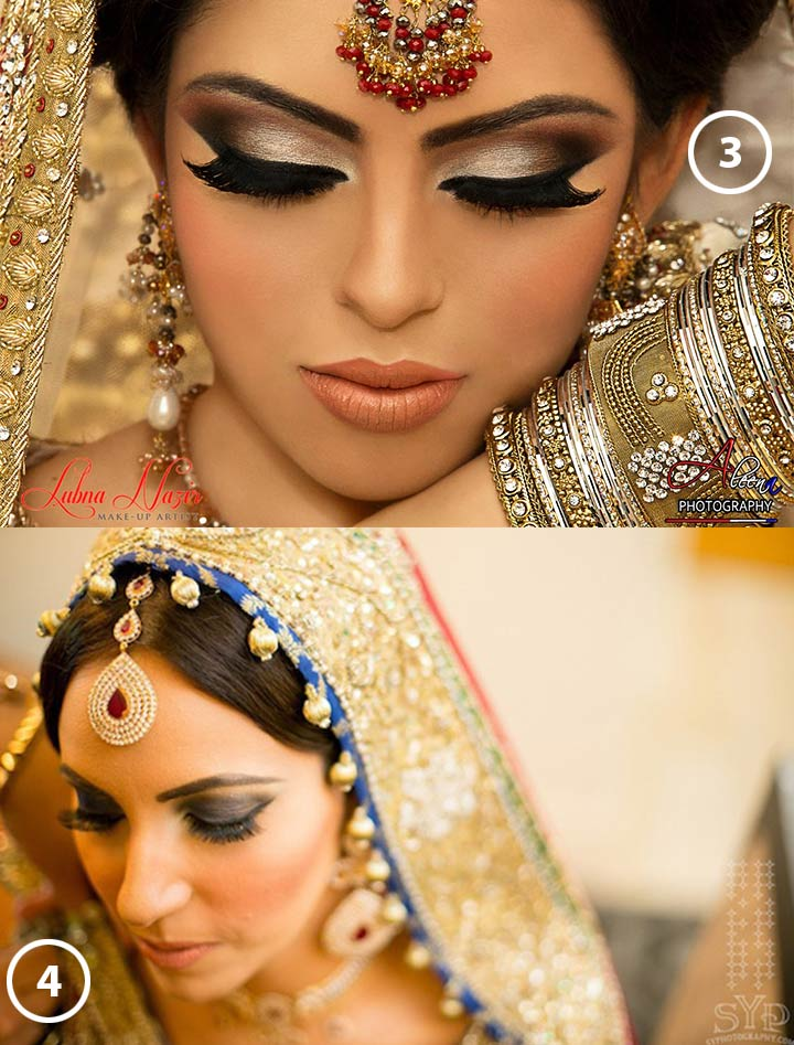 Bridal Eye Makeup Tips  - drama smokey eye look