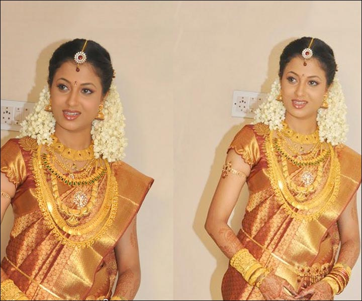 Bridal Gold Jewellery Sets - Kerala Gold Necklace Set