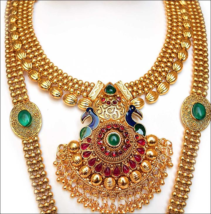 necklace gold previous heavy set manufacturer