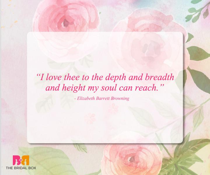 Romantic Love Quotes - Elizabeth Barrett Browning