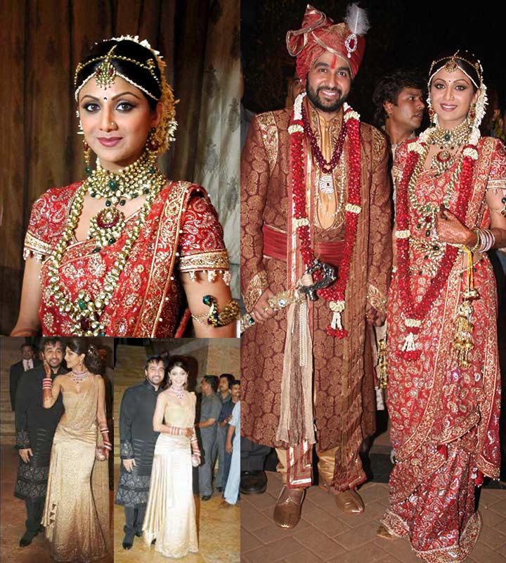 7 Bollywood Celebrity Wedding Dresses To Die For
