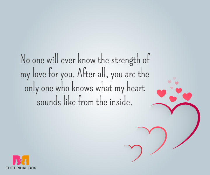 Strong love quotes 2
