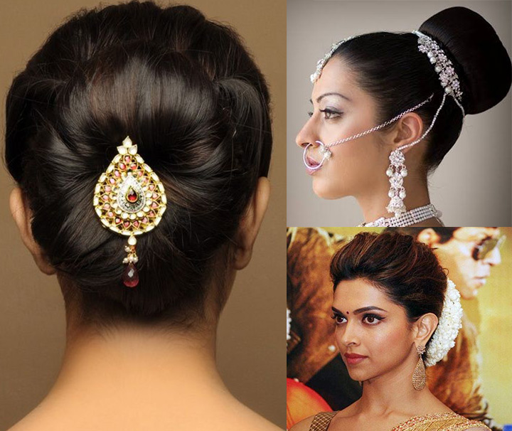 Wedding Hairstyles Indian: 10 Indian Bridal Hairstyles For Long Hair