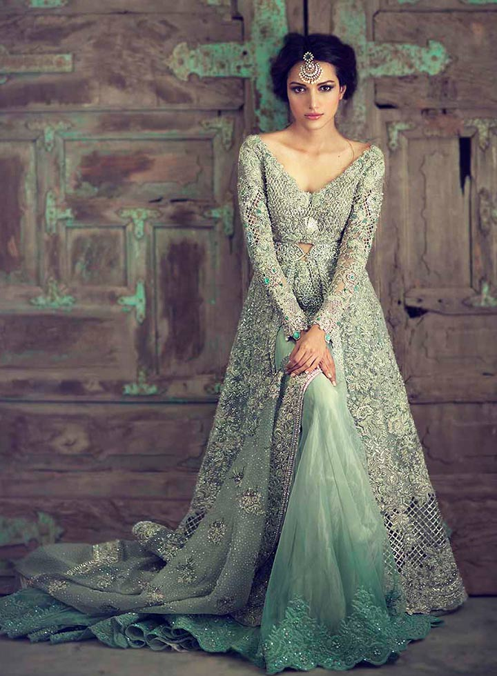 Designer Engagement Dresses For Indian Bride By Kamal Beverly Hills