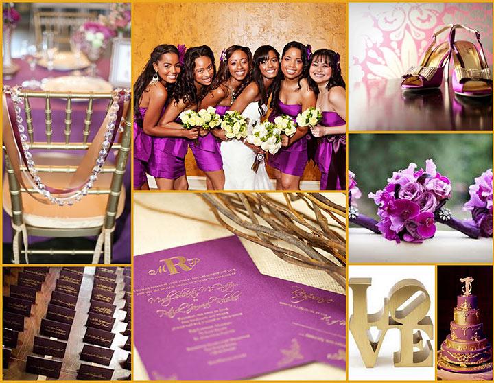 10 amazing purple wedding decorations to admire. Black Bedroom Furniture Sets. Home Design Ideas