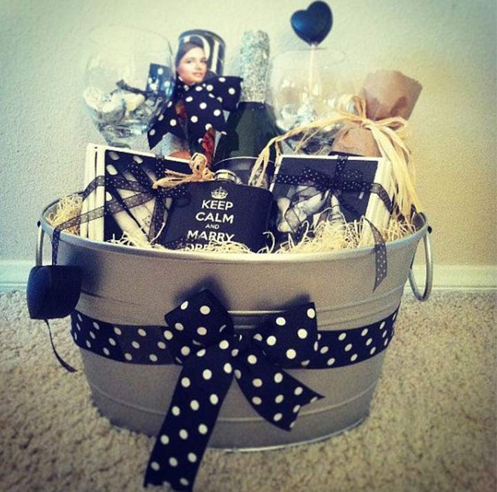 Goodies Basket - Engagement Gifts