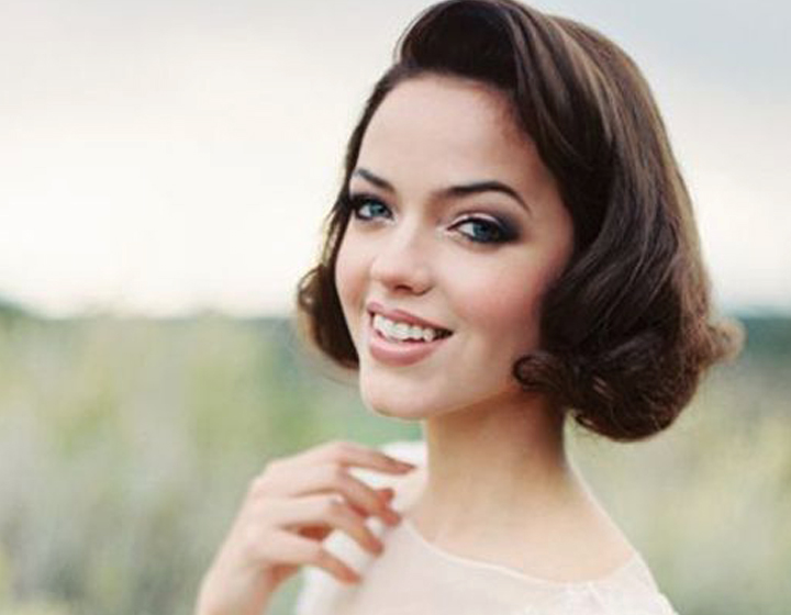 Indian Bridal Hairstyles For Short Hair - Style It Like Jackie O