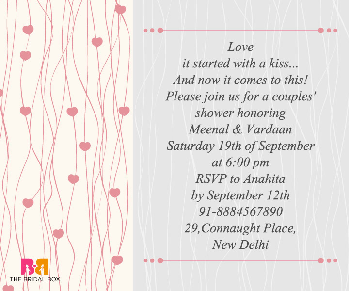 Engagement Invitation Wording For Friends 3  Format Of Engagement Invitation
