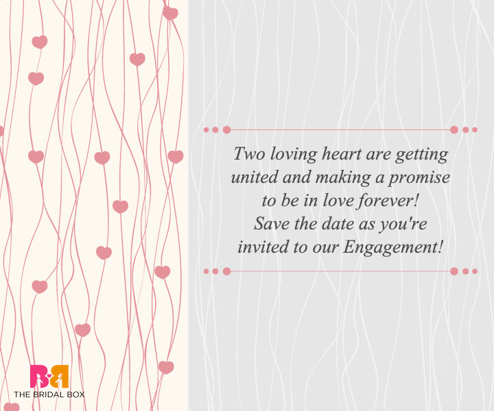 Engagement Invitation Wording For Friends 5