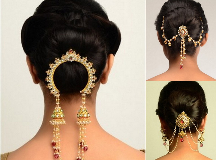 Hair Brooches For Weddings - Juda Pin