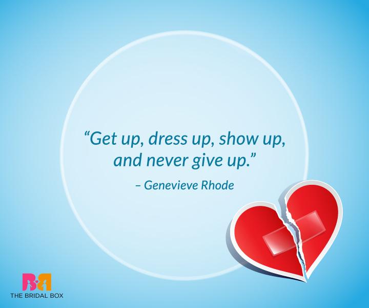 Break Up Quotes For Him - Genevieve Rhode