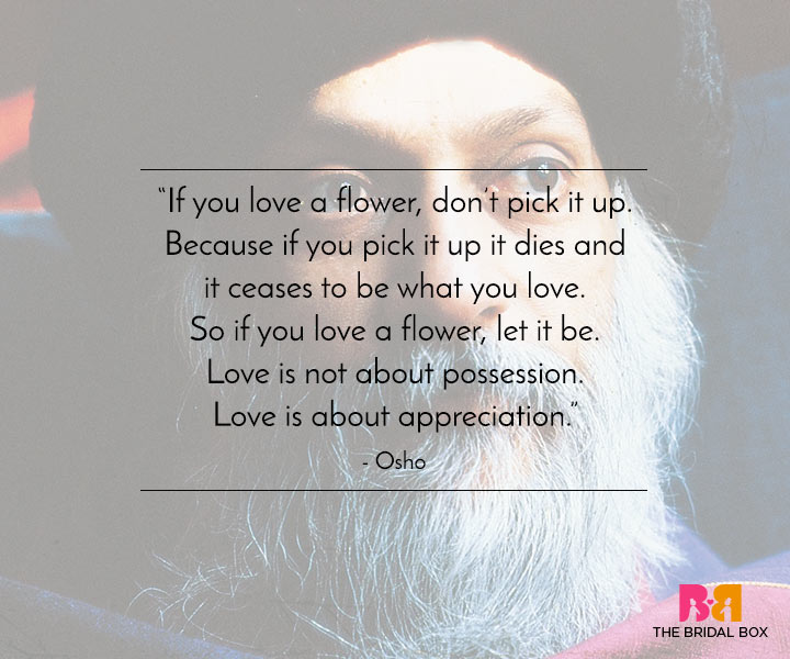 Osho Love Quotes - 1