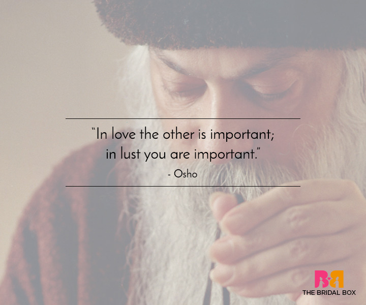 Osho Love Quotes - 5