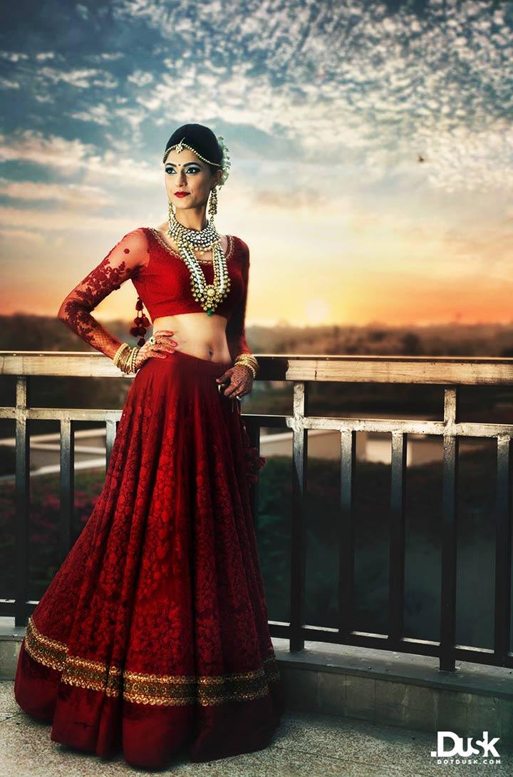 lehenga bridal indian sabyasachi modern gold lehengas designs designer bride weddings border wear studios dress lengha rich mukherjee most wedmegood