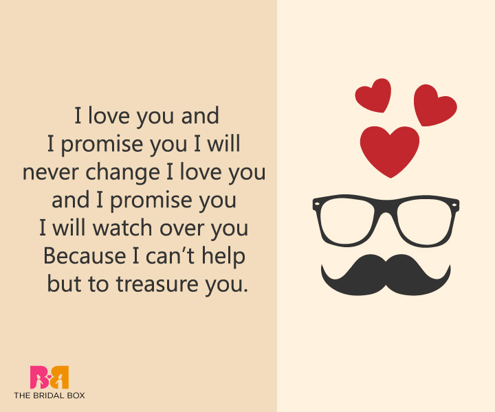 True Love Messages For Boyfriend - I Can't Help But Treasure You