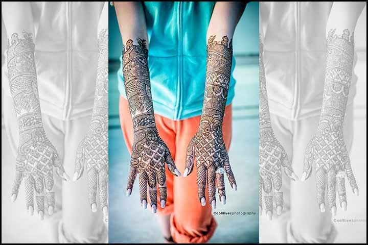 Stylish Mehndi Designs - Extended Mehndi Art