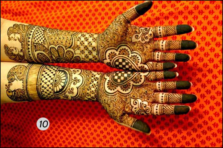 Traditional Wonder - Bridal Mehndi Designs For Hands