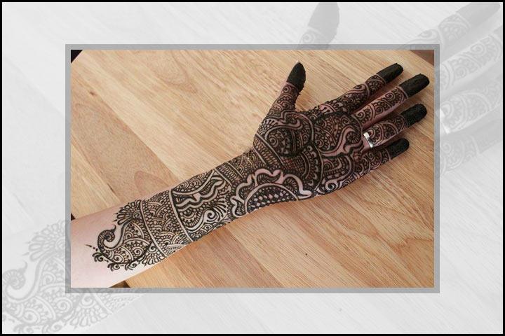 Stylish Mehndi Designs - Rich And Heavy