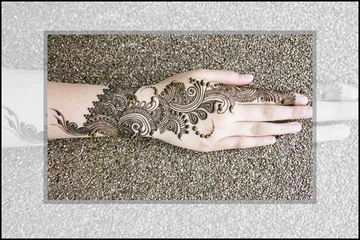 Stylish Mehndi Designs - Contemporary Class