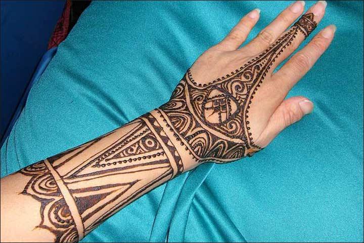 African Mehndi - Full Hand Mehndi Designs