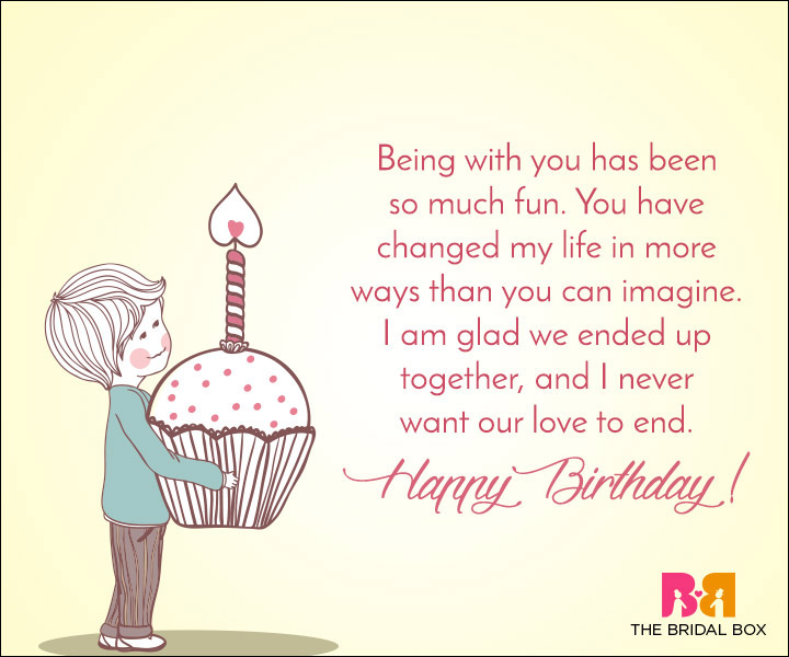 15 Special Love Birthday Messages For Girlfriend