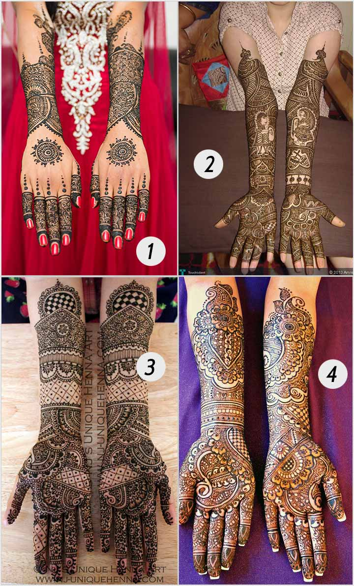 Circles And Dots - Bridal Mehndi Designs For Hands