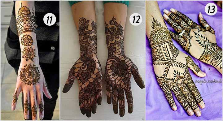 Simply Intricate - Bridal Mehndi Designs For Hands