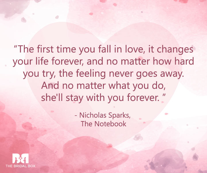 19 First Love Quotes For The Romantic In You