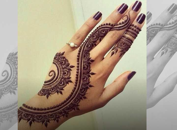 Gujarati Bridal Mehndi Designs 19 Best Styles That Stand Out
