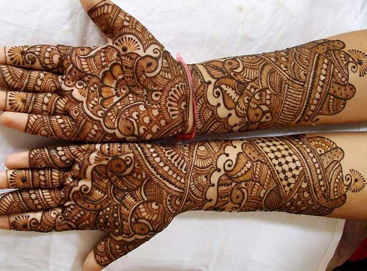 Mehndi For Bride : Book of gujarati mehndi design bridal in uk by jacob domseksa