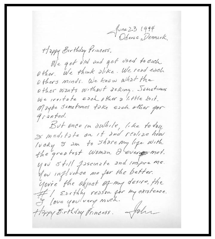 Love Letter To Girlfriend - Johnny Cash To June Carter Cash