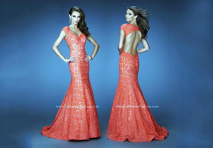 Wedding Guest Dresses - La Femme 20117 By New York Dresses