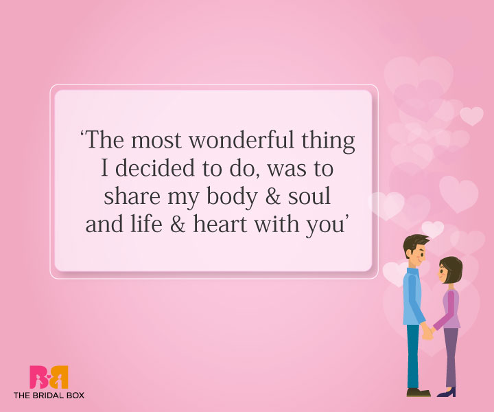 Romantic Love Quotes For Husband 10 Of The Sweetest
