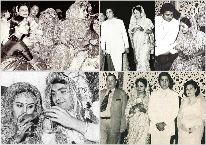 The Wedding - Rishi Kapoor Neetu Singh Wedding